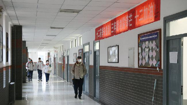 直擊內蒙古高三學子復課現場