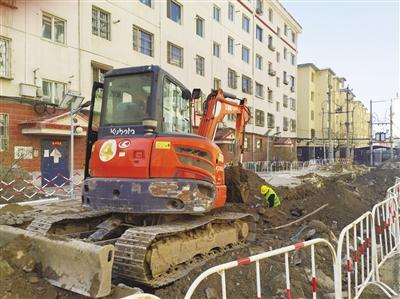 呼和浩特市85個老舊小區改造項目開工建設